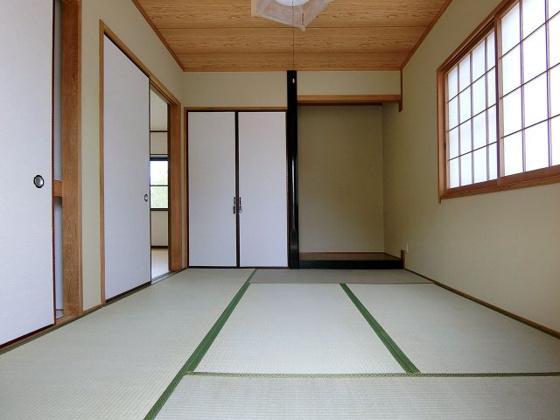 和室和室はくつろぎのスペース 急な来客時にも客間として使えて便利です