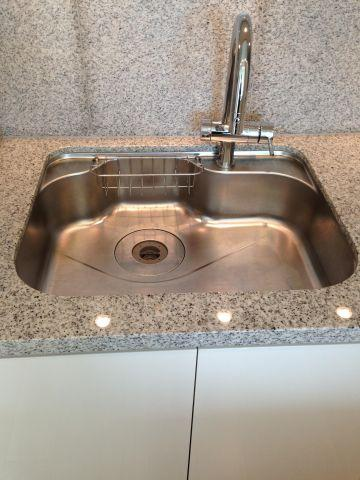 キッチン浄水器・ディスポーザー付き