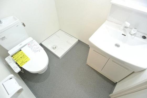洗面所使いやすい洗面所です