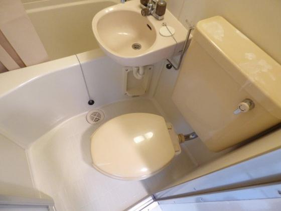 トイレ清潔感あふれるトイレ。