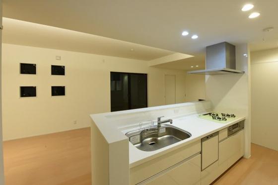 キッチン対面キッチン施工例
