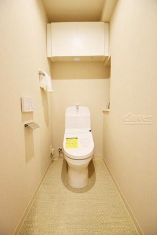 トイレトイレ 上部収納あり