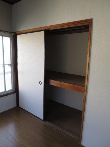 収納大きなスペースがあり、収納には困りません