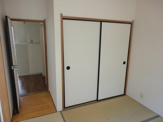 和室写真は別室です。