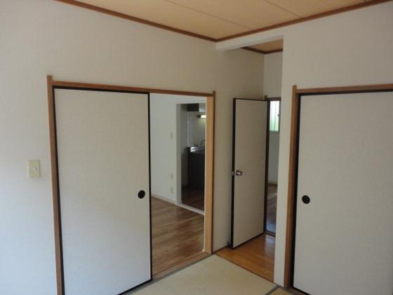 和室写真は別室です。和室から洋室