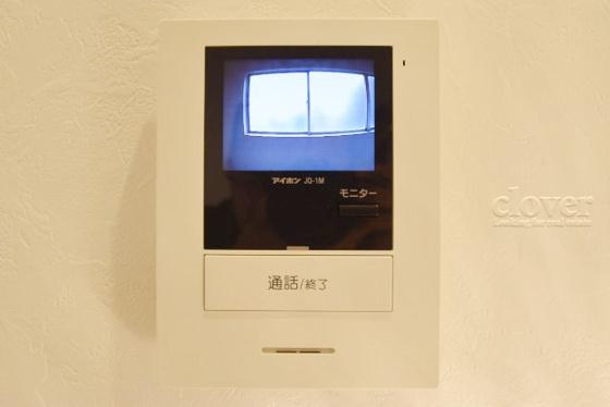 設備モニター付インターフォン