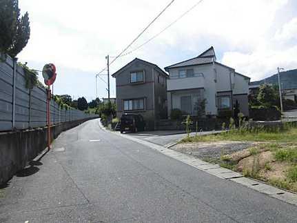 前面道路含む現地写真建築条件無し お好きなハウスメーカーで建築できます♪