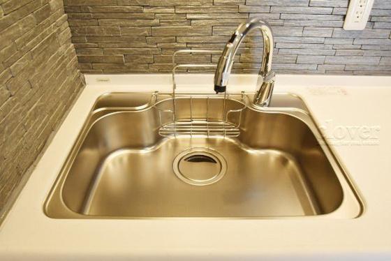キッチンキッチンシンク 一体型浄水器付き