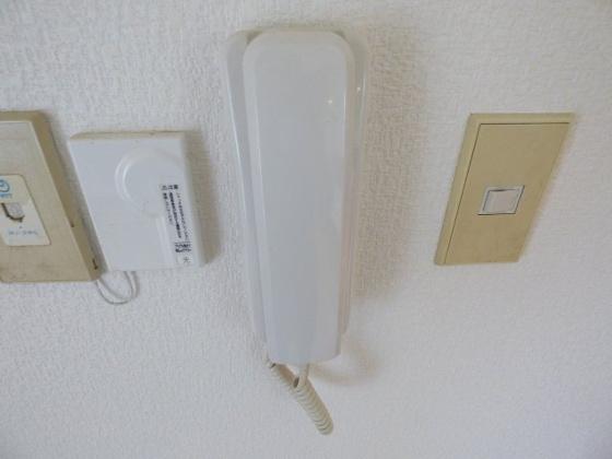 設備安心のインターホン。