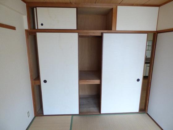 収納大容量の収納スペース。
