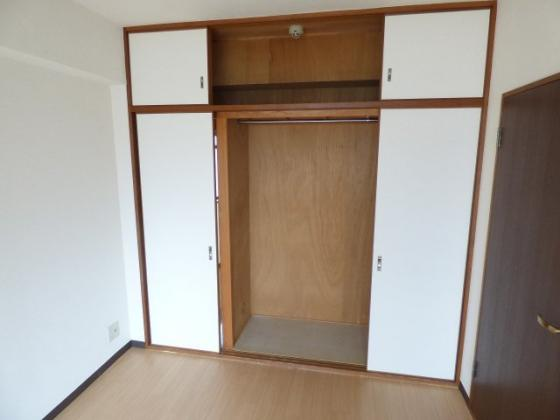 収納大きな収納でお部屋もすっきり。