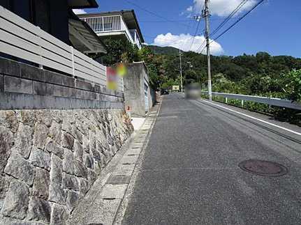 前面道路含む現地写真平成29年9月リノベーション済 耐震補強済で地震に強い家に生まれ変わりました♪