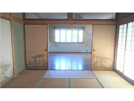 和室和室と続き間の開放感溢れる設計です