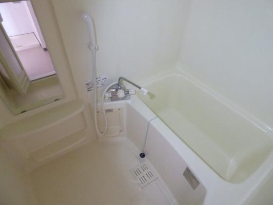 浴室癒しの空間になります。
