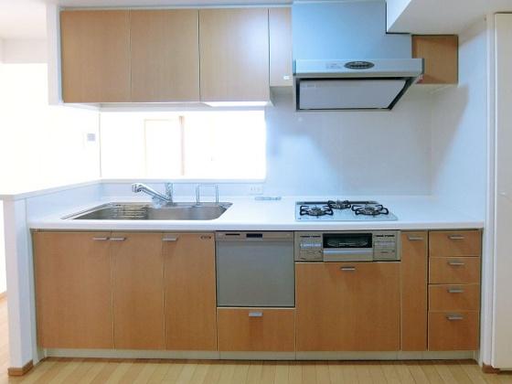 キッチン食器洗い乾燥機付システムキッチン
