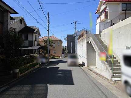 前面道路含む現地写真平成30年9月リフォーム済 アストラムライン長楽寺駅まで徒歩15分
