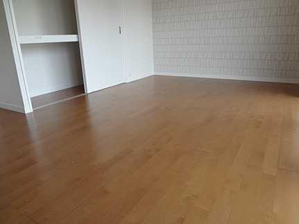 居間生活スペースを広く利用できますね