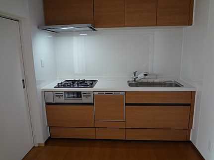 キッチン食洗機付きシステムキッチン