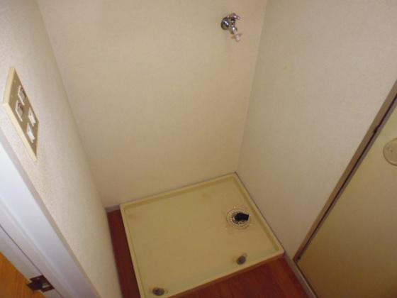 設備洗濯機置き場