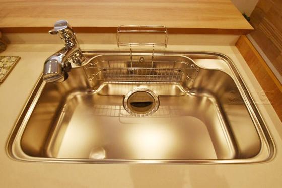 キッチンシンク 浄水器内蔵水栓