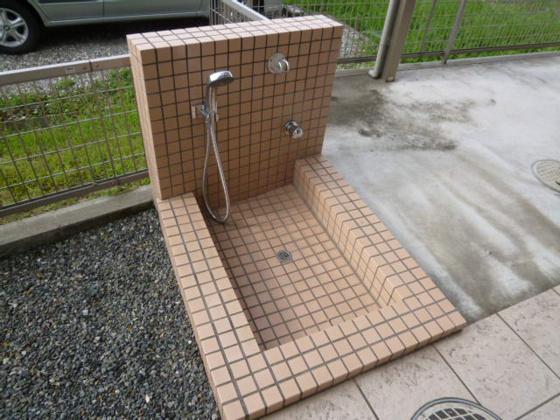 共有部分ペット用洗い場