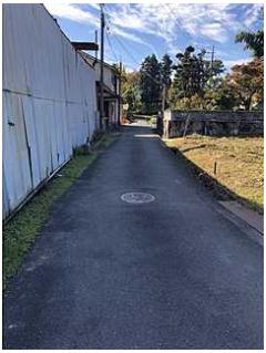 前面道路含む現地写真建築条件無し 敷地面積ゆとりの506坪