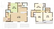 ◆カエルの家 高槻市東城山町 1号棟・新築戸建◆(公開)   の画像