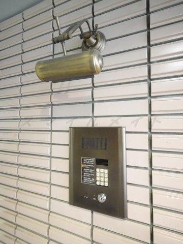 セキュリティ安心のセキュリティ・オートロック・防犯カメラも付いてます。