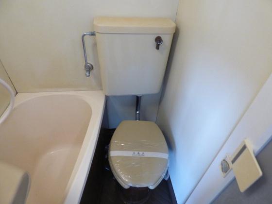 トイレすっきりキレイなトイレ。