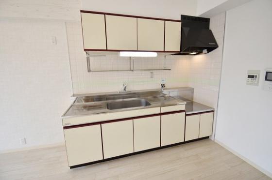 キッチン大きなキッチンでお料理も快適。