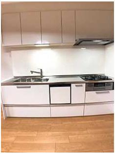キッチン食器洗乾燥機付きキッチンで洗い物楽々(*^^*)