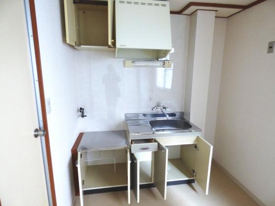 収納キッチンにも収納がたっぷり。
