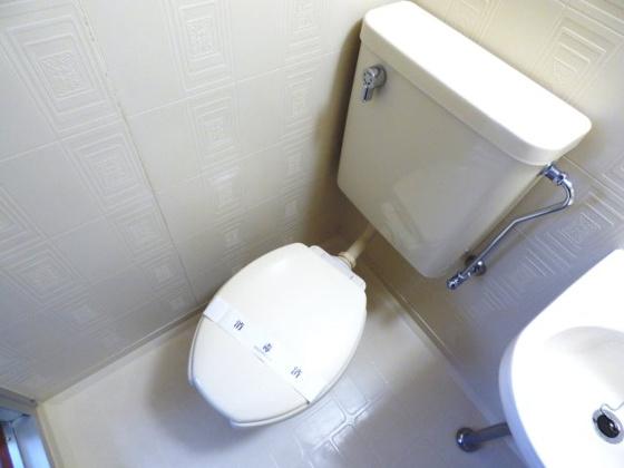 トイレすっきりとしたトイレです。