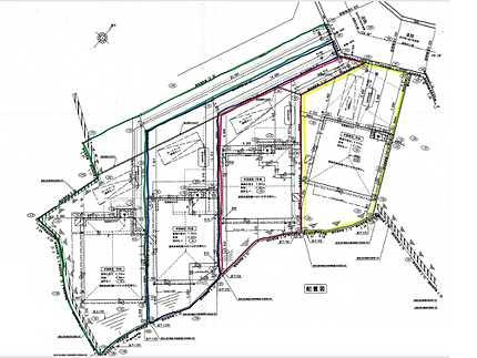 区画図オール電化・バリアフリー 設計住宅性能評価取得