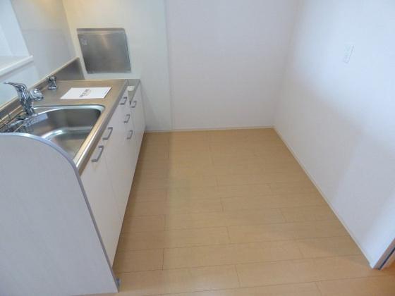 その他キッチンスペースも広くて快適。