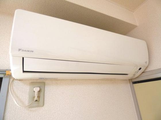 設備1年中快適なエアコンも完備。