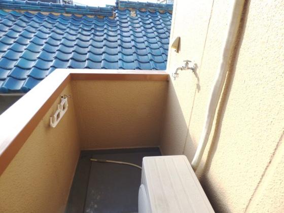 その他洗濯機はバルコニーに設置可能。