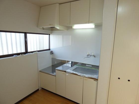 キッチン大きくて使いやすいです。