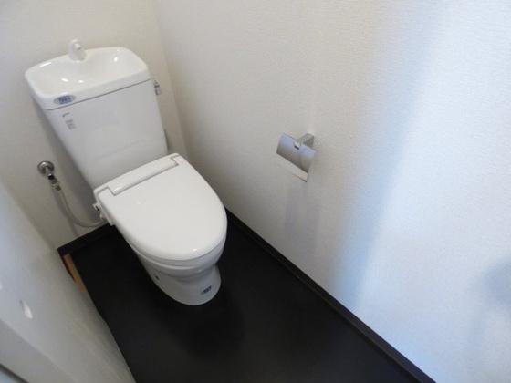 トイレ清潔感あふれるキレイなトイレ。