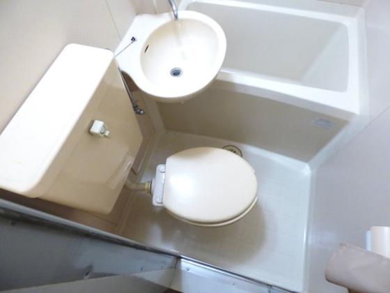 トイレすっきり清潔なトイレです。