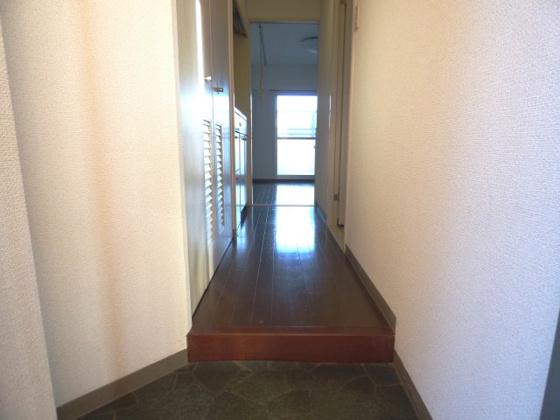 玄関ここから新生活のスタート。