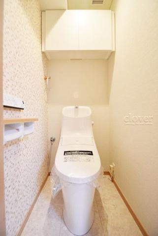 トイレトイレ 上部収納有り