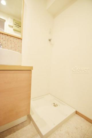 内装洗濯機置き場