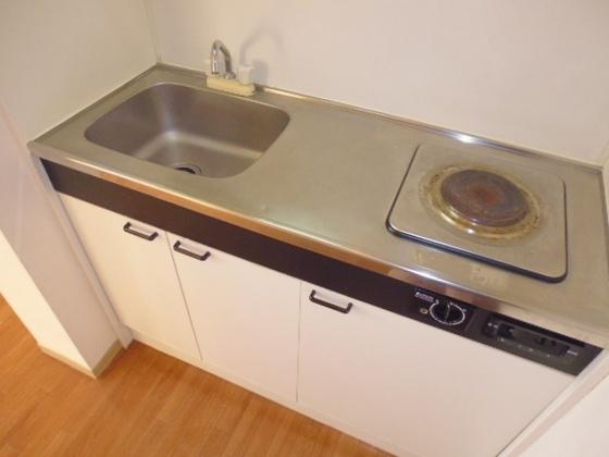 キッチン電気コンロ