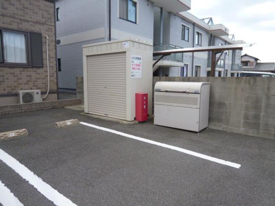 共有部分敷地内専用ゴミステーション