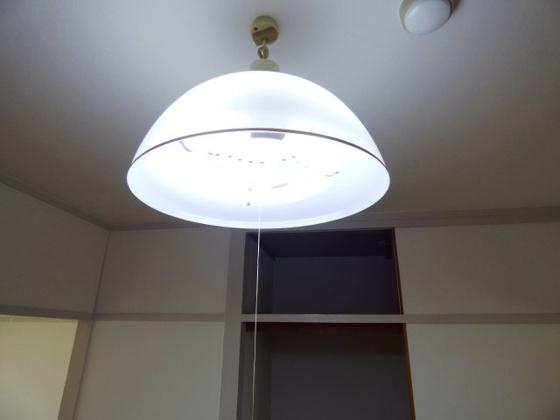 設備全室照明付きが嬉しいですね。