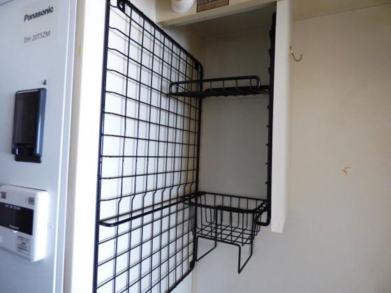 その他キッチン上部に収納スペース。