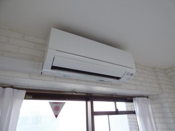 設備エアコン完備で毎日快適です。