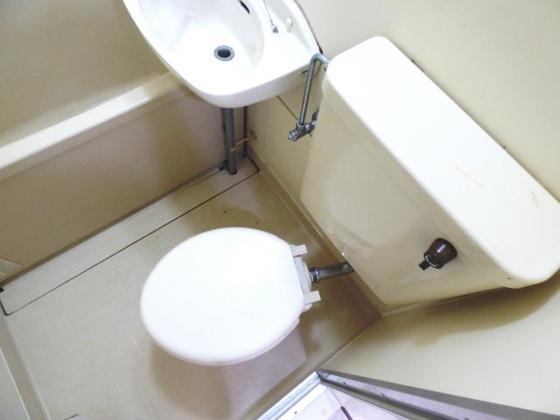 トイレすっきりシンプルなトイレ。