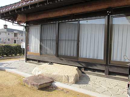 外観古家付き(昭和63年2月築・オール電化住宅)